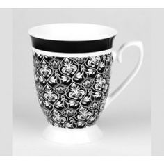 Mug Ebony Damask