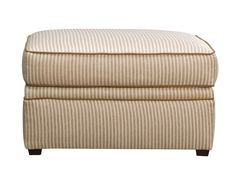 Attractive Kendall Stripe Ottoman   Value City Furniture