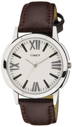 c6b68d7d9 Watches for Inder · Buy Timex Analog Silver Dial Men's Watch - TW002E101  Online at Low Prices in India -