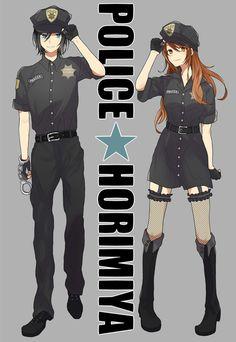POLICE×ホリミヤ