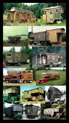 Old Houses On Wheels (Large Graphic) - Each to its own I guess :)