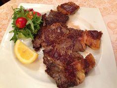Bistecca di manzo Danese #meat #ristorante #restaurant #Roma #Rome