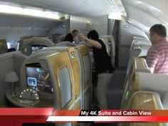 My Emirates A380 First Class Experience