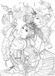 Instant Download Masquerade Coloring Book – Princess and Dress! High quality images fit on A4 paper Over 200 printable coloring books available #coloringbook #coloring #portrait #mystica #chinesecoloring #koreacoloring #download #ebook #coloringpage #Masquerade #princess Adult Coloring Pages, People Coloring Pages, Detailed Coloring Pages, Cute Coloring Pages, Coloring Books, Printable Coloring Pages, Disney Drawings Sketches, Drawing Scenery, Traditional Japanese Tattoos