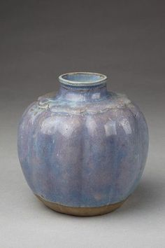 Vase, made in Shiwan, China in the 18th century. (see source... Victoria and Albert Museum)
