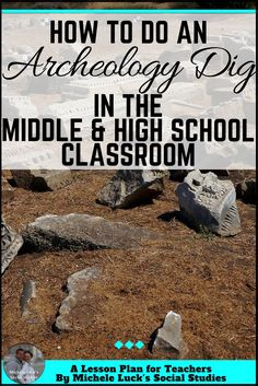 Great how-to tips and ideas for teachers doing archeology dig activities in the middle or high school Social Studies classroom. Fun for students and filled with content for learning! Check out how easy it is to do!
