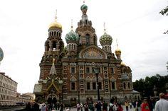 Iglesia Ortodoxa-de la Sangre Derramada-San Petersburgo-Rusia
