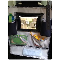Organizador para carro com porta iPad