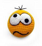 ru – Smiley # … – My CMS Crochet Keychain Pattern, Crochet Hook Case, Crochet Bookmarks, Crochet Faces, Crochet Toys, Filet Crochet, Hand Crochet, Crochet Ball, Holiday Crochet