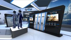 Weerawich hirankulsap on behance exhibition stands выставочн Exhibition Stand Design, Exhibition Display, Electronics Projects, Electronics Accessories, Mobile Shop Design, Saloon, Electronic Shop, Behance, Display Design