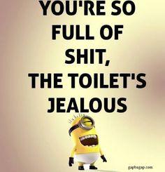 Funny Minion Joke About Toilets