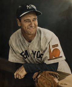 Lou Gehrig (World's Fair patch) by Ron Stark