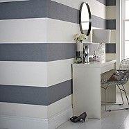 Julien Macdonald Grey Glitz Wallpaper- at Debenhams.com