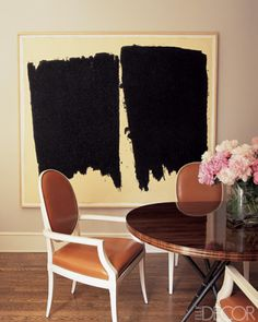 DIY art>Sophisticated style mix from Elle Decor.