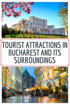 Vibrant and attracted by sights worth visiting, Bucharest is one of the most beautiful European capitals. This urban center invites you to be captivated by the rich collections of museums or the mood of magic and the charm that dominates the Historic Center.  Today, I will present to you some of the tourist attractions! Romania Tours, Bucharest, Cruises, Cool Places To Visit, Museums, Invites, The Good Place, Attraction, Taj Mahal