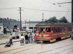 Pacific Electric Streetcar, Los Angeles