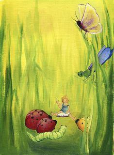 """""""And then…"""" Kids Room Art, Art For Kids, Tinkerbell, Disney Characters, Fictional Characters, Disney Princess, Gallery, Paintings, Hipster Stuff"""