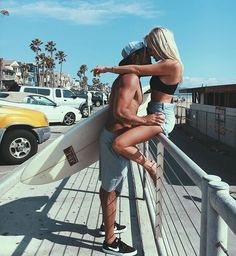 Imagem de couple, love, and summer