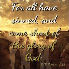 KJV Bible Verse - Romans 3:23