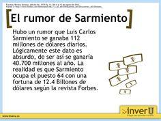 El rumor de Sarmientos.