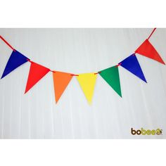 rainbow party banner party supplies