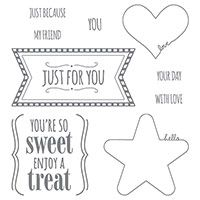 You're So Sweet Wood-Mount Stamp Set by Stampin' Up!
