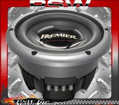 "TSW2502D2 PIONEER Subwoofer 10"" 3000 Watt Champion PRO Series with 2Ω DVC"
