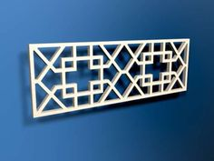 CNC Routing :: Diamond Fretted Grilles
