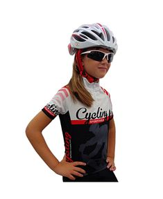 El maillot de manga corta de ciclismo infantil es ideal para los más  pequeños que empiezan a descubrir el ciclismo de carretera ff6815c0f3d9