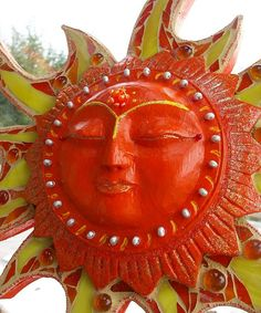 Sun Worship Mosaic, Amanda Edwards