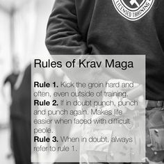 A light hearted look at life according to Krav Maga #britishkravmaga #kravmagabristol