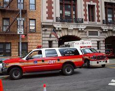 FDNY Fleet Vehicles | E084s FDNY Fleet Services Vehicle, Washington Heights, New York City