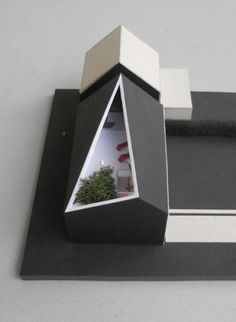 Learn more at the website click the grey bar for extra selections - st louis architecture Maquette Architecture, Roof Architecture, Architecture Drawings, Amazing Architecture, Arch Model, 3d Models, Facade House, Rustic Interiors, Plans