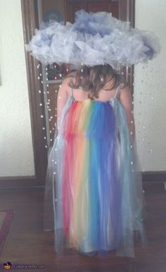 Rainbow!!!!, Rain Cloud Costume More #halloweencostumekids #coupleshalloweencostumes