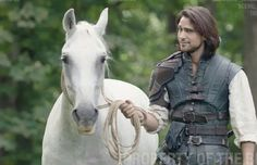 S3 Sweet Luca.....I mean D'Artagnan and his horse, Kim. Thank you Jessica Pope, from her twitter. Now we know it's friday!