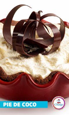 Este Pie de coco es un postre espectacular. Con una textura y un sabor único! Te animas a prepararlo? Encontralo en nuestro recetario! Feet Nails, Texture, Dessert, Recipes