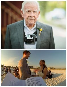 This is such a brilliant idea to have the officiant wearing a GoPro.