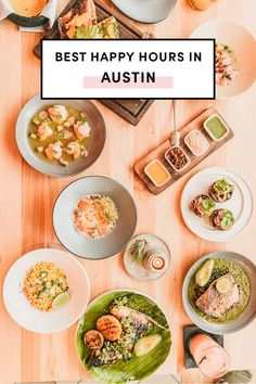 Best Happy Hours In Austin by A Taste Of Koko Happy hour happiest hours of the day with discounted cocktails and appetizers is my incentive to make it through a long day. Heres the ultimate guide to the best happy hours in Austin sorted by neighborhood! All Day Happy Hour, Visit Austin, Austin Tx, Austin Food, Good Foods To Eat, Easy Cooking, Cheap Cocktails, Food Inspiration, Food Photography