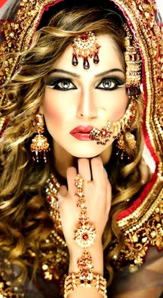 Bridal Makeup & Jewellery indian
