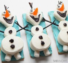 Free Disney Frozen Olaf Party Dessert Recipe