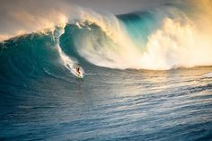 Would love to say I could ride a wave like this; in reality, it is quite the opposite.