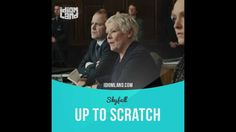 """""""Up to scratch"""" means """"at an acceptable standard or quality"""". Text in the clip from """"Skyfall"""": - So you believe your security for MI6 during the recent crisis has been up to scratch? - Well, I believe we've apprehended the responsible party undertaking all necessary steps to ensure that the sensitive information's contained. #idiom #idioms #slang #saying #sayings #phrase #phrases #english #learnenglish #studyenglish #language #vocabulary #efl #esl #tesl #tefl #toefl #ielts #toeic #skyfall"""
