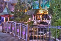 Disneyland. Snow White's Wishing Well