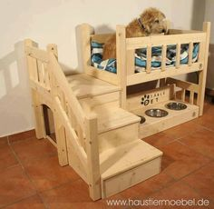 What a cute little dog bed