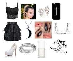 """One Minute To Midnight"" by fabiola-maria on Polyvore"