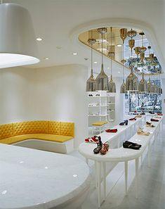 Shoe Store Design - Retail Commercial Interior Design | Mindful Design Consulting - retail-store-design-shelving-2