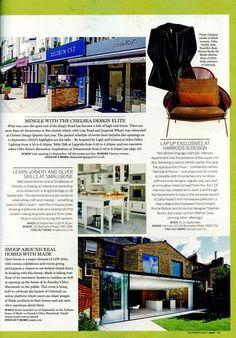Design talk at Lapicida's showroom as part of  London Design Festival lapicida.com Homes & Gardens October 2014