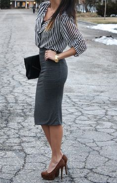 stripes and leopard pattern mixing