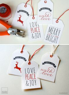 I've been working on some goodies for Christmas and thought that I would share these printable Christmas gift tags with you all. I hope you like them. You will need: Cardstock of at least 180 gsm S...