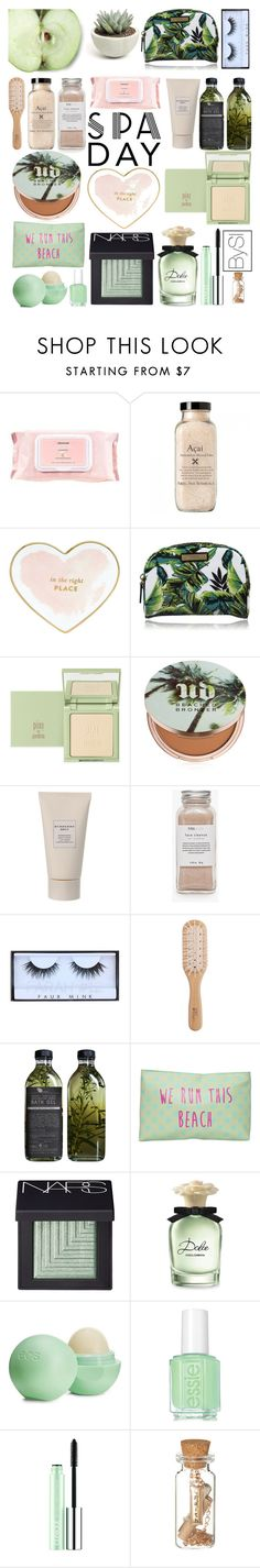 """SPA"" by ivanova-sonya on Polyvore featuring косметика, Mamonde, Kate Spade, Milly, Urban Decay, Burberry, Très Pure, Huda Beauty, Philip Kingsley и AMBRE"